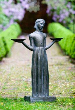"28"" Bird Girl Statue"