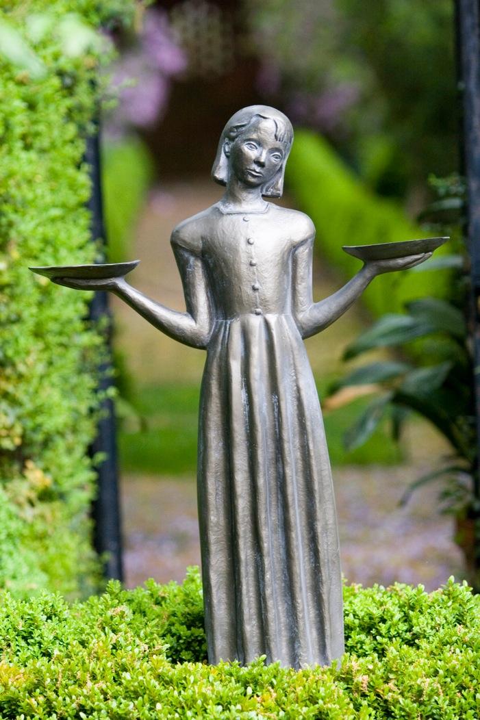 "24"" Bird Girl Statue"