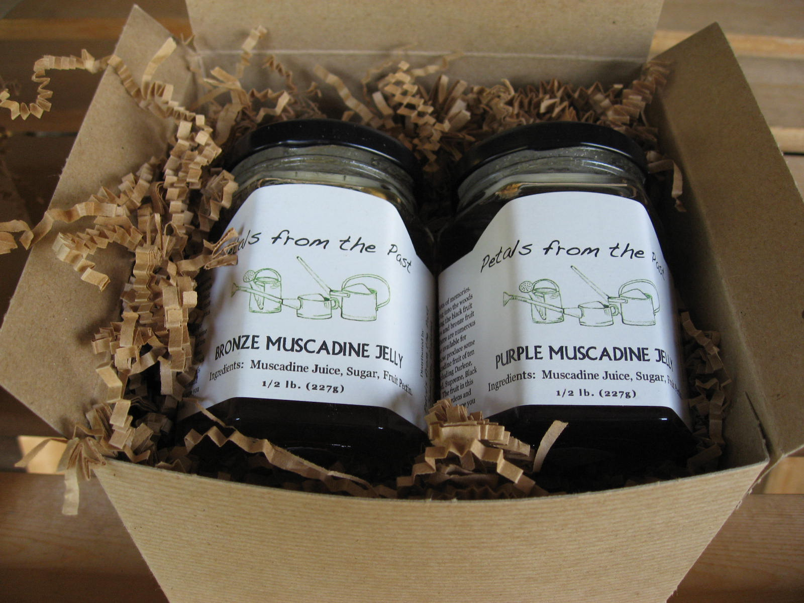 Gift Box of Jams and Jellies 2 Jars-1177