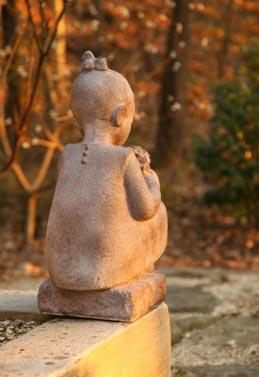 Summer Garden Statue-0